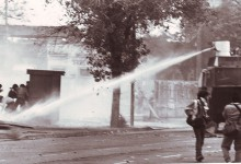 Chile Manifestaciones, acto mayo 89'