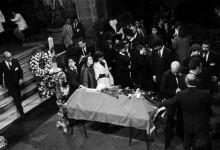 Funeral de Claudio Arrau en la Catedral de Santiago