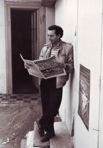 Reinaldo Berríos periodista de Policía y Tribunales.