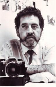 Vicente Vergara editor fotográfico de Fortín.